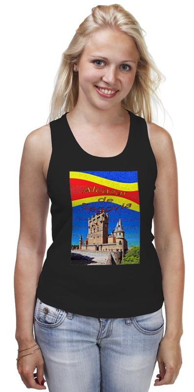 Майка классическая Printio Замки испании. замок сеговия.