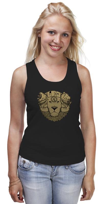 Майка классическая Printio Leo / лев leo ventoni кошелек женский leo ventoni l330756 nero bianco