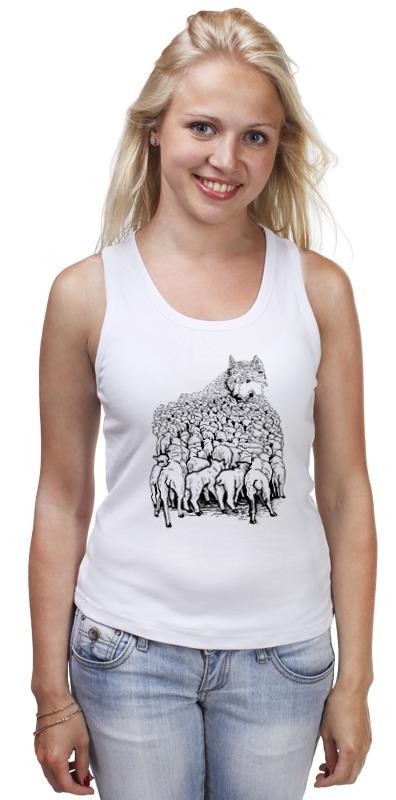 Майка классическая Printio Волк в овечьей шкуре футболка wearcraft premium printio волк в овечьей шкуре