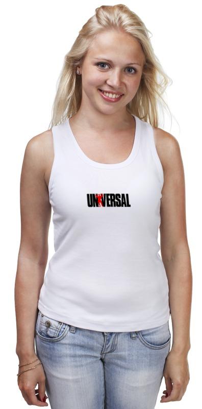 Майка классическая Printio Universal nutrition футболка классическая printio universal nutrition