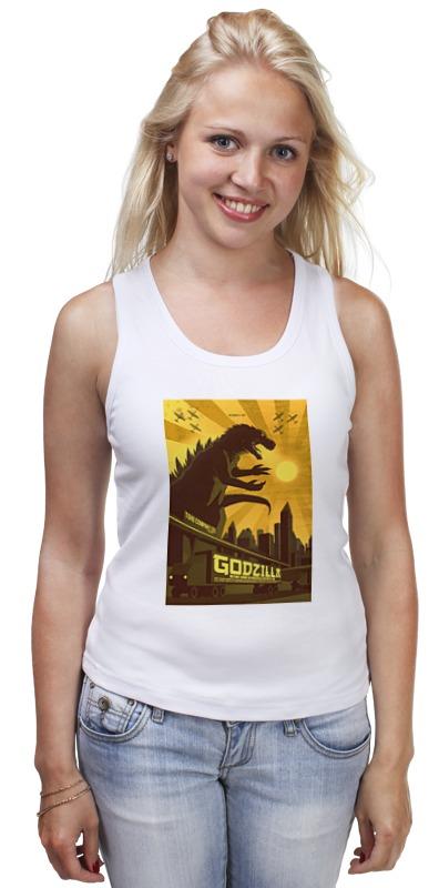Майка классическая Printio Godzilla yellow