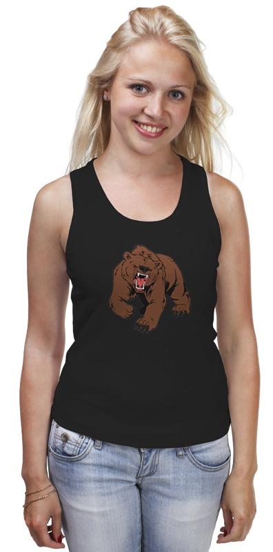 Майка классическая Printio Bear / медведь майка классическая printio я медведь i am bear
