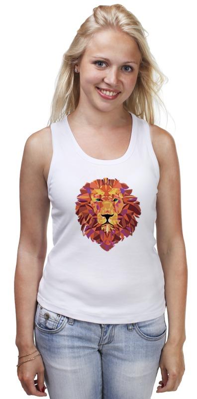 Майка классическая Printio Лев (lion)