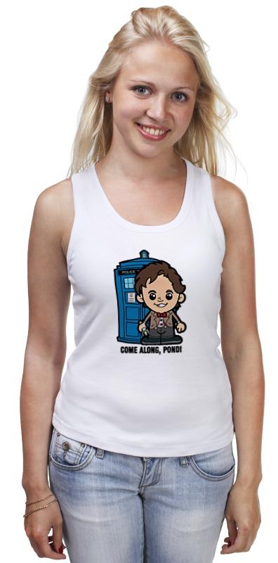 Майка классическая Printio Time lord (доктор кто) футболка для беременных printio time lord доктор кто