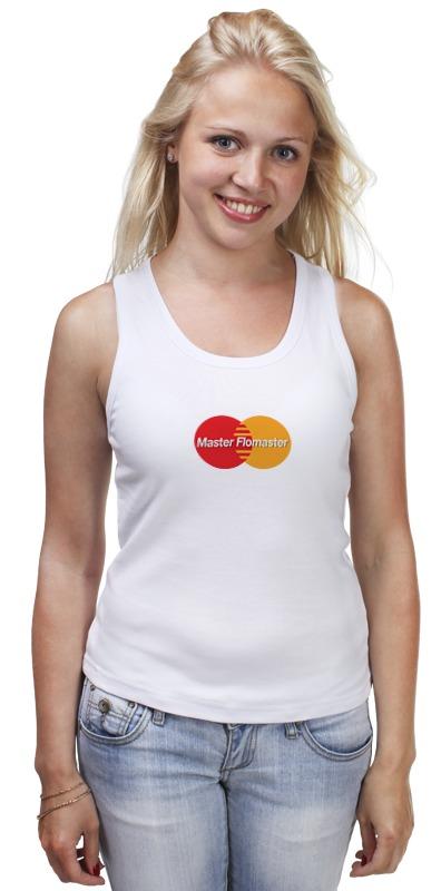 Майка классическая Printio Master card прибор рн для определения в организме человека купить