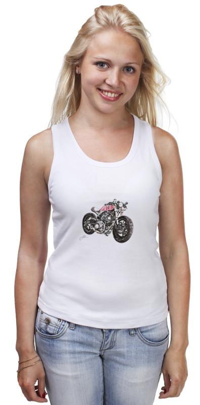 Майка классическая Printio Мотоцикл мотоцикл хонду f4в спб