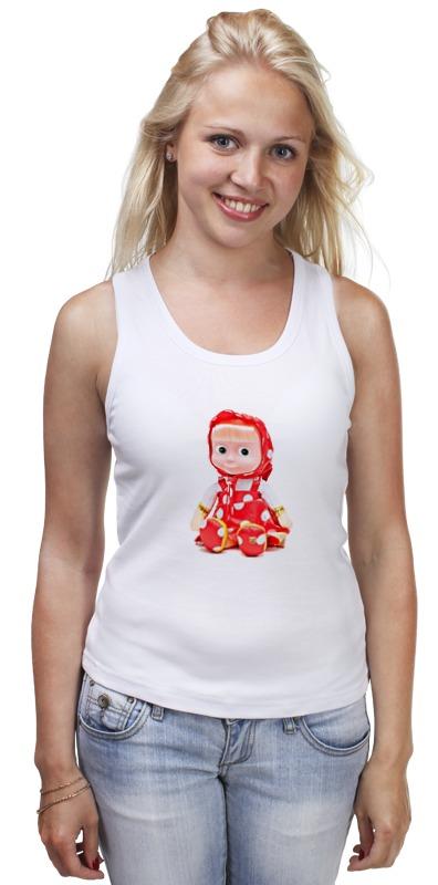 Майка классическая Printio Кукла-девочка маша из мульта. смешная озорная. кукла yako m6579 6