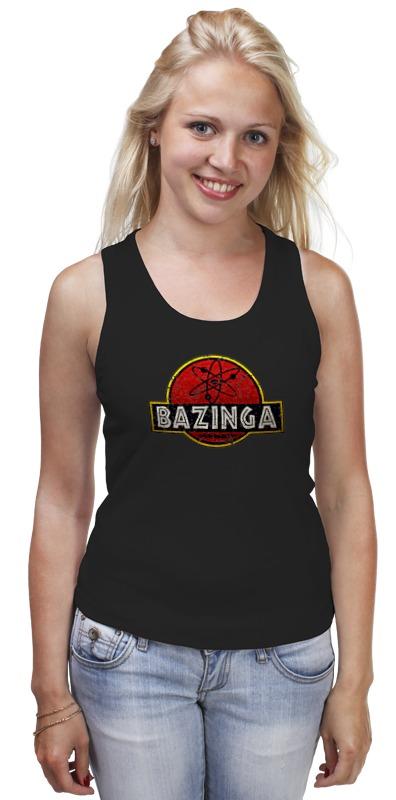 Майка классическая Printio Bazinga! худи print bar bazinga