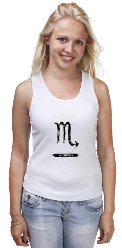 Майка классическая Printio Знак зодиака скорпион сумка printio знак зодиака скорпион
