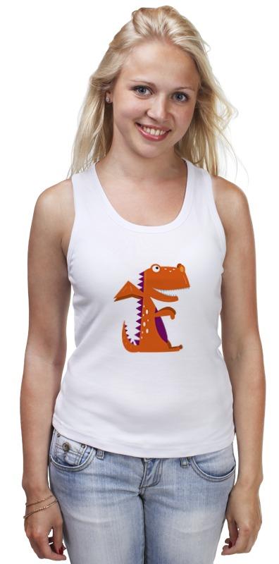 Майка классическая Printio Динозавр майка классическая printio забавный динозавр