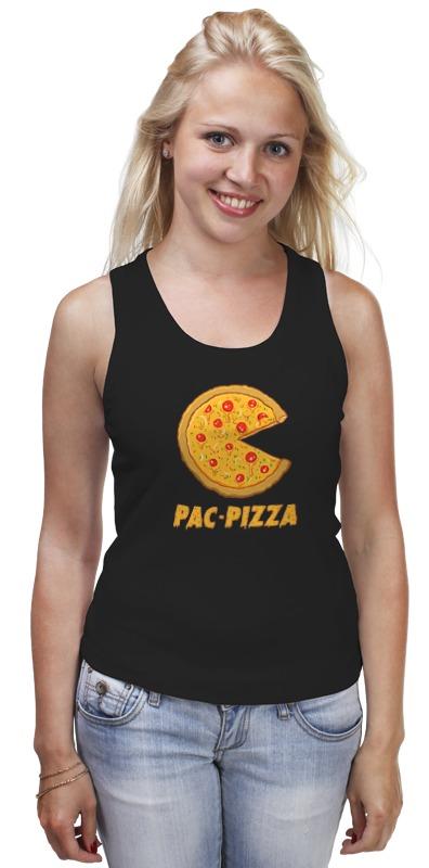 Майка классическая Printio Пак-пицца