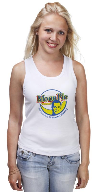 Майка классическая Printio Шелдон купер (moon pie) майка классическая printio шелдон купер moon pie