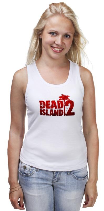 Майка классическая Printio Dead island 2 john escott dead man s island