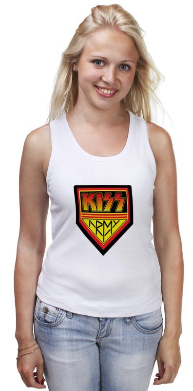 Майка классическая Printio Kiss army майка борцовка print bar рок идолы