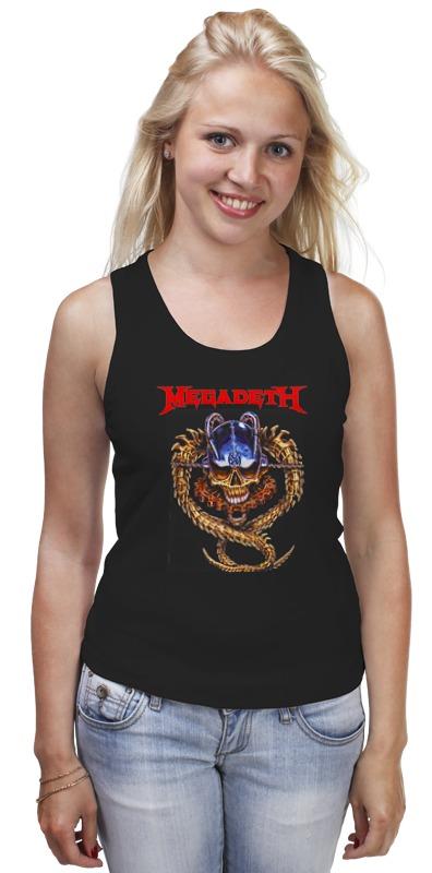 Майка классическая Printio Megadeth megadeth stockholm