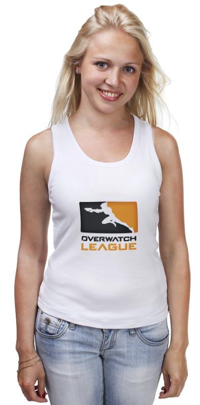 Майка классическая Printio Overwatch league сумка printio overwatch league