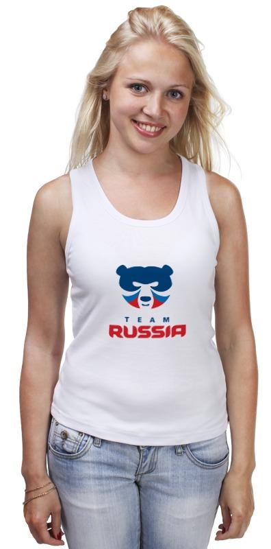 Майка классическая Printio Russia team майка классическая printio russia