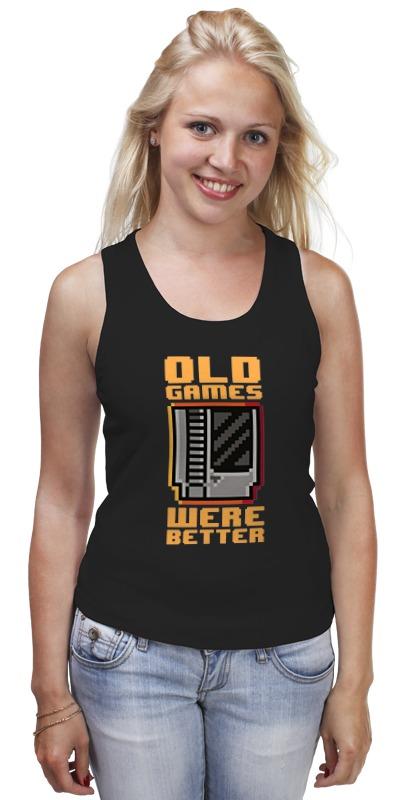 Майка классическая Printio Старые игры были лучше!