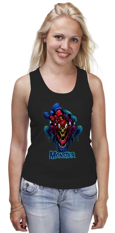 Майка классическая Printio Monster цена