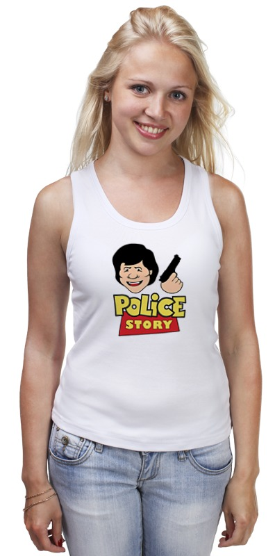 Printio Джеки чан (полицейская история) чан т история твоей жизни