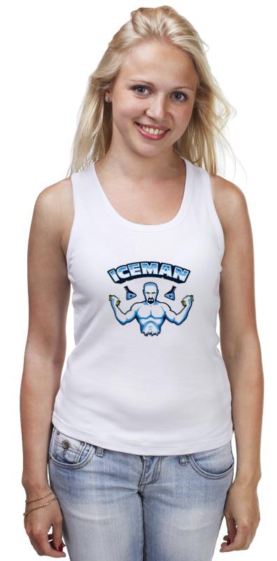 Майка классическая Printio Iceman майка print bar iceman