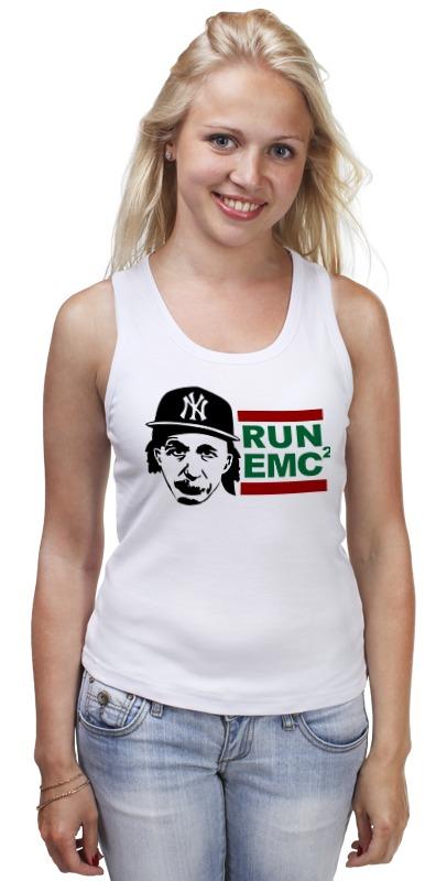 купить Майка классическая Printio Run emc по цене 710 рублей
