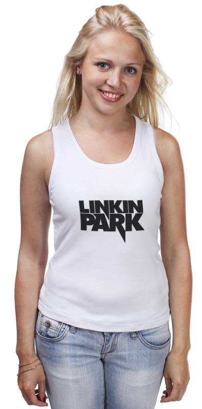 Майка классическая Printio Linkin park logo майка классическая printio linkin park burning in the skies