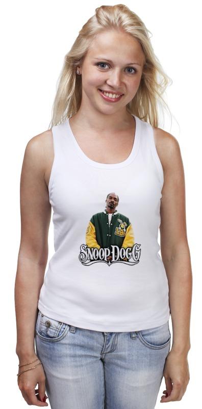Майка классическая Printio Snoop dogg брелок blue sky faux snoop dogg taobao pc006