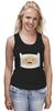 "Майка (Женская) ""Adventure Time"" - adventure time, усы, время приключений, finn, финн"