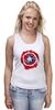 """Майка классическая """"Captain America """" - капитан америка, captain america"""