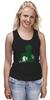"""Майка классическая """"Зеленый Фонарь (Green Lantern)"""" - зеленый фонарь, green lantern"""