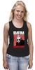 "Майка (Женская) ""KMFDM Revolution Sascha Konietzko"" - музыка, industrial, kmfdm, sascha konietzko, brute"