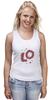 """Майка (Женская) """"Love. Парные футболки """" - сердца, день святого валентина, 14 февраля, для двоих, парные"""