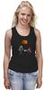"""Майка (Женская) """"Майнкрафт & Супер Марио"""" - minecraft, майнкрафт, nintendo, видеоигры, super mario bros"""