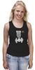 """Майка классическая """"ФитПит.рф - Спортивное питание"""" - спорт, фитнес, спортзал, кросфит, майка для спорта"""