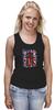 "Майка (Женская) ""10th флаг UK (Доктор Кто)"" - doctor who, bbc, флаг, uk, доктор кто, тардис"