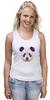 "Майка классическая ""Панда"" - медведь, панда, panda, китай, бамбук"