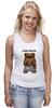 "Майка (Женская) ""Fash_Shops SWAG"" - медведь, swag, миша, fash"