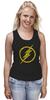 """Майка классическая """"Флэш (The Flash)"""" - flash, молния, флеш, dc"""