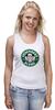"""Майка (Женская) """"Heisenberg Coffee (Breaking Bad)"""" - кофе, во все тяжкие, старбакс, heisenberg coffee"""
