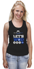 "Майка (Женская) ""ФитПит.рф - Спортивное питание"" - спорт, фитнес, crossfit, кроссфит, спортивное питание"