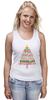 """Майка (Женская) """"Christmas Tree"""" - новый год, звезда, рождество, new year, christmas, christmas tree, 2015"""