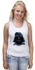 "Майка (Женская) ""Darth Vader v.2"" - star wars, darth vader, звездные войны"