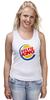 """Майка классическая """"Король Селфи (Selfie King)"""" - пародия, foto, селфи, selfie, burger king"""