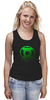 """Майка (Женская) """"Зеленый Фонарь"""" - комикс, зеленый, зеленый фонарь, фонарь, green lantern"""