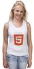 """Майка (Женская) """"HTML5"""" - html5"""