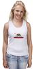 "Майка классическая ""Калифорния флаг"" - us, сша, west coast, california, cali"