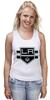 """Майка классическая """"Лос-Анджелес Кингс """" - хоккей, nhl, нхл, los angeles kings, лос-анджелес кингс"""