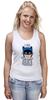 """Майка (Женская) """"I Am the Bat"""" - комиксы, batman, герой, бэтмен"""