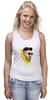 "Майка классическая ""Банановый бородач"" - хипстер, борода, banana, beard, hipster, банан"